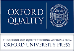 Oxford Quality - This school uses quality teaching materials from Oxford University Press